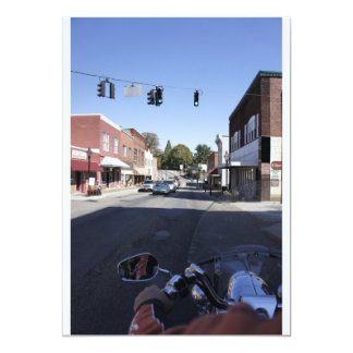 "Main Street 5"" X 7"" Invitation Card"