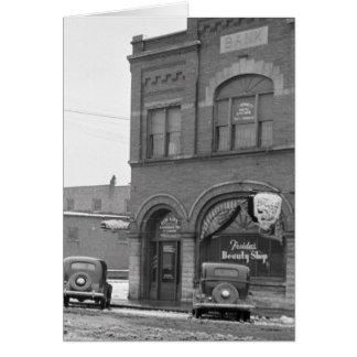 Main Street, January 1939 Card