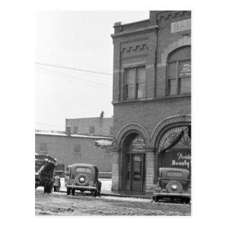 Main Street, January 1939 Postcard