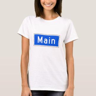 Main Street, Los Angeles, CA Street Sign T-Shirt