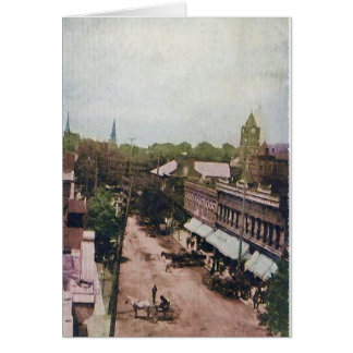 Main Street Mcminnville Tennessee 1910 Card