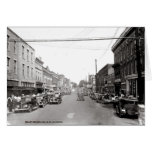 Main Street McMinnville Tennessee Circa 1935 Card