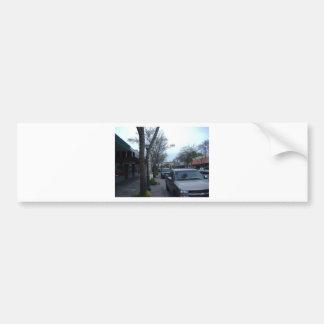 Main Street Merced Bumper Sticker