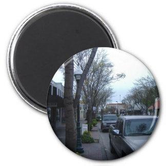 Main Street, Merced Fridge Magnet