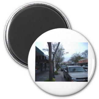 Main Street, Merced Fridge Magnets