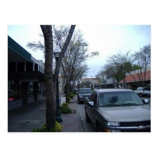Main Street, Merced Postcard