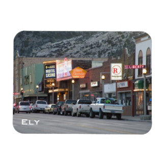Main Street Rectangular Magnet