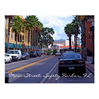 Main Street Safety Harbor Postcards