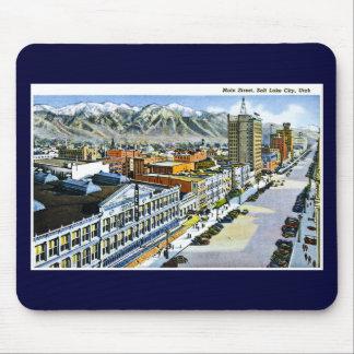 Main Street, Salt Lake City, Utah Mouse Pad