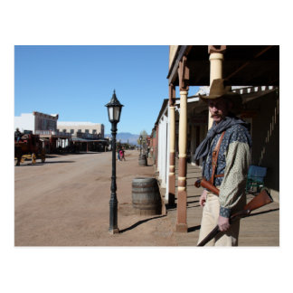 Main Street, Tombstone Postcard