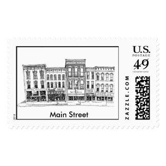 Main Street USA Stamps