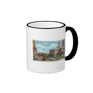 Main Street View of State Street & Old State Coffee Mugs