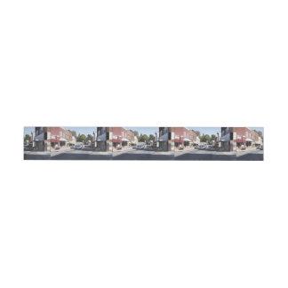 Main Street Wrap Around Address Label