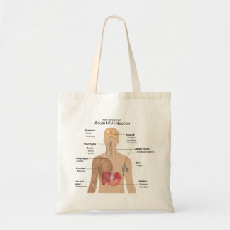 Main Symptoms of Acute HIV Infection Tote Bag