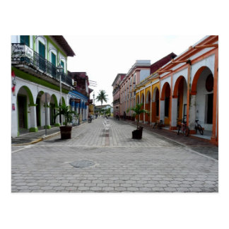 Main tourist walk off the Zocalo Postcard