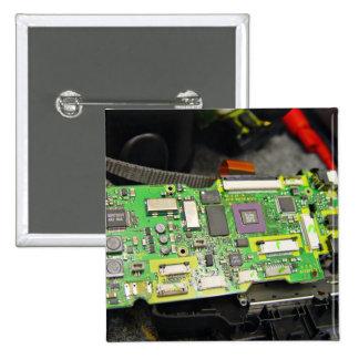 Mainboard de la cámara digital pins