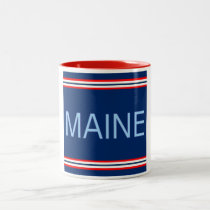 Maine 11 oz Two-Tone Mug