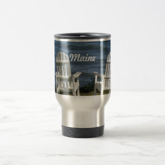 Maine 15 Oz Stainless Steel Travel Mug