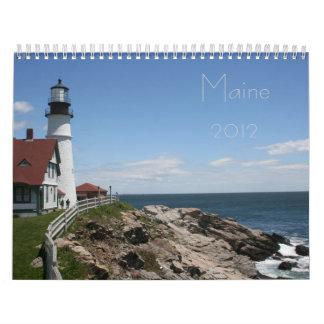 Maine 2012 calendar
