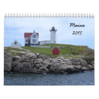 Maine 2015 calendario de pared