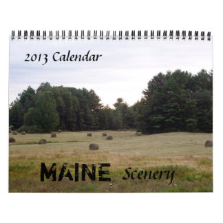 Maine 2015 Scener Calendario De Pared