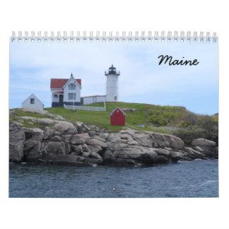 Maine 2017 calendar