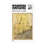 Maine 2 stamp