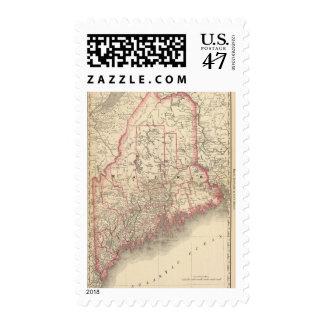 Maine 6 postage