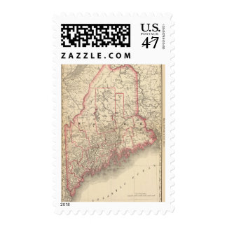 Maine 6 postage stamp