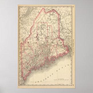 Maine 6 print
