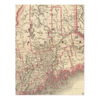 Maine 6 postales