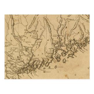 Maine 7 postcard
