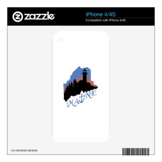 Maine Anchor iPhone 4S Skin