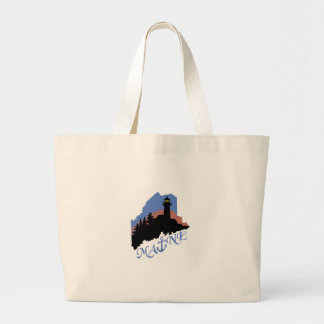 Maine Anchor Large Tote Bag