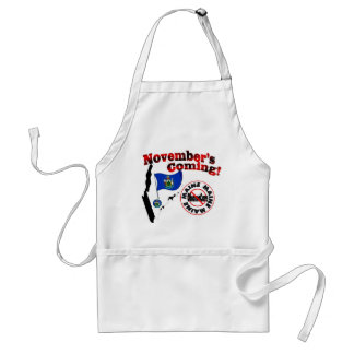 Maine Anti ObamaCare – November's Coming! Adult Apron