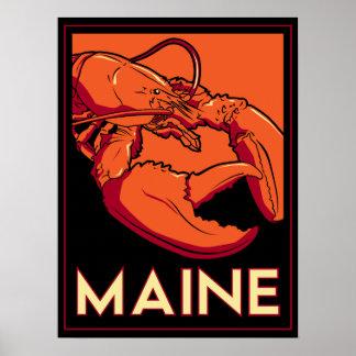 Maine Art Deco Print