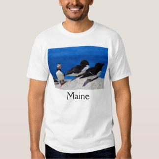 Maine Atlantic Puffin and Razorbills T-Shirt