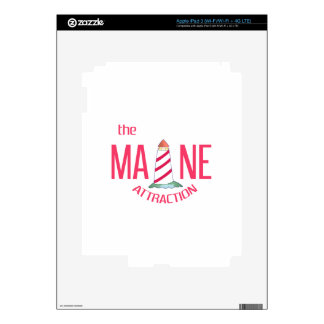Maine Attraction Decal For iPad 3