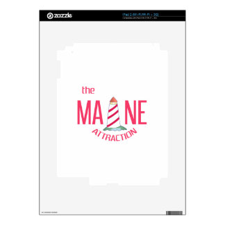 Maine Attraction iPad 2 Decals