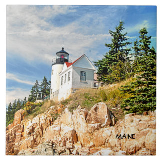 MAINE, BASS HARBOR TILE