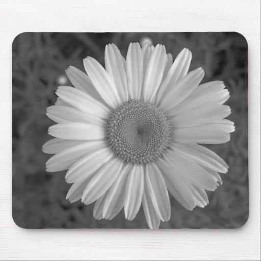 Maine_Black+White_117 Mouse Pad