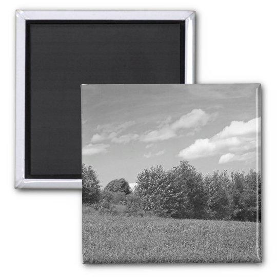 Maine_Black+White_147 Magnet