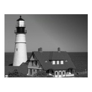 Maine_Black+White_6 Postcard