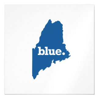 MAINE BLUE STATE MAGNETIC CARD