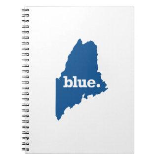 MAINE BLUE STATE SPIRAL NOTEBOOK