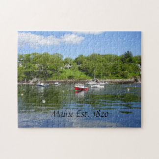 Maine Boats Puzzle