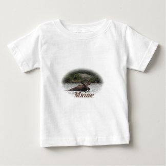 Maine Bull Moose T Shirt