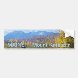 Maine bumper sticker 007