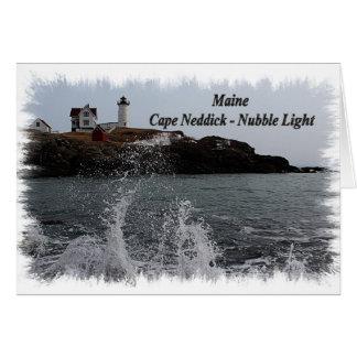 Maine Cape Neddick - Nubble Light Card