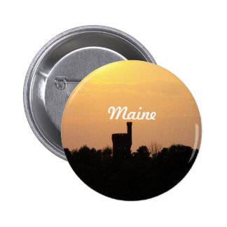 Maine Castle Tower Pin